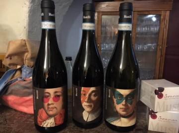 I vini dell'Azienda Mustilli