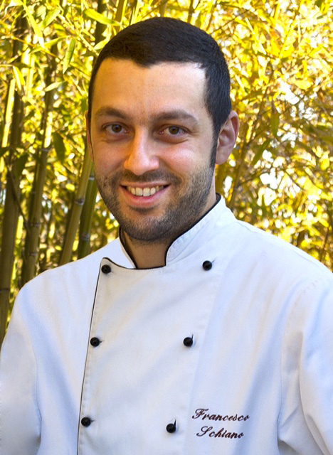 Lo chef Francesco Schiano