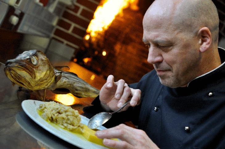 Lo chef Antonio Chemello