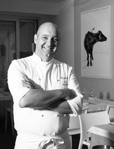 Lo chef Agostino Malapena