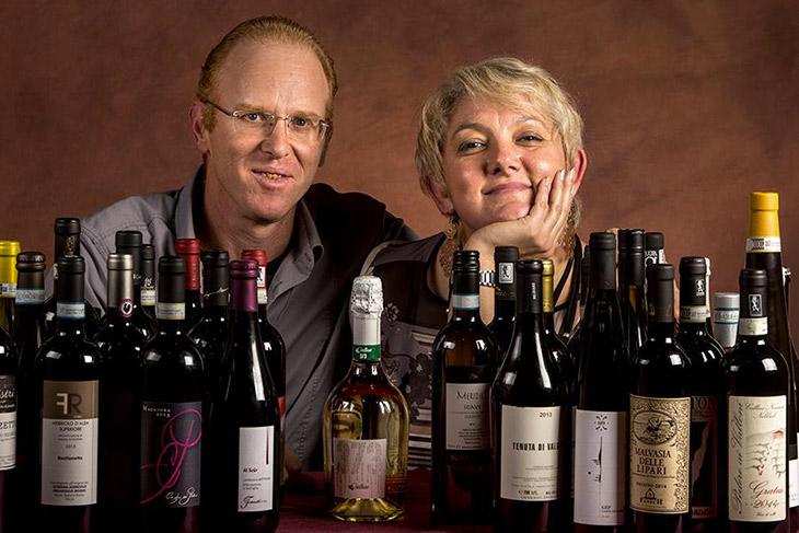 Enzo e Desiree nel 2016 al Mercato dei vini di Piacenza