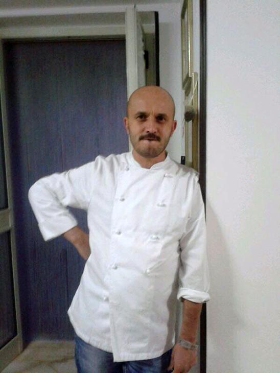 lo chef Stefano D'Onghia