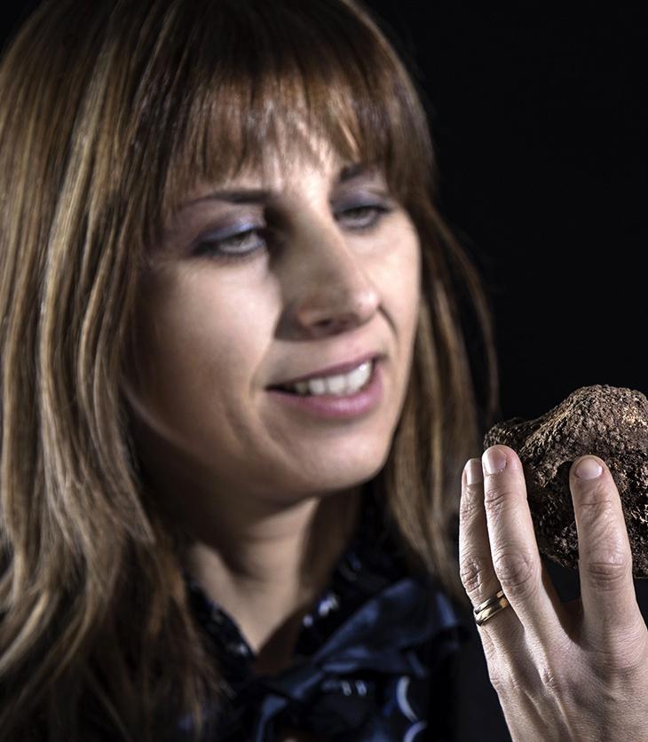 Stefania Calugi e i suoi tartufi