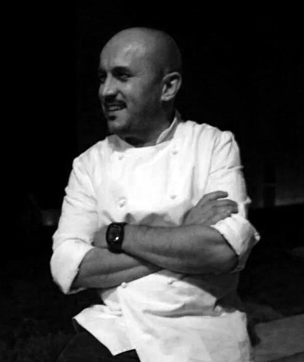 Lo chef Stefano D'Onghia