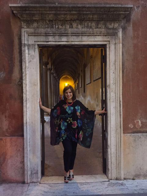 La giornalista Tiziana Briguglio, ideatrice di Vinicibando
