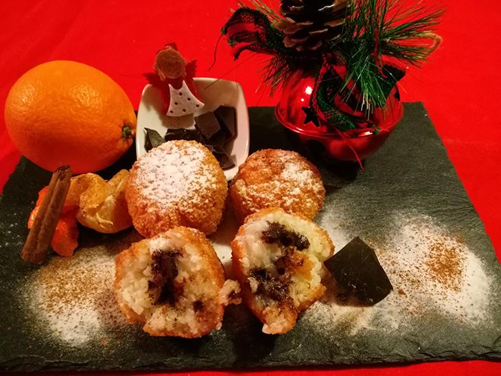 Delizie fritte di Natale
