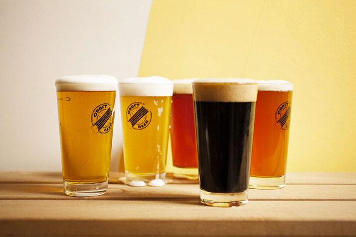 Selezione di birre artigianali