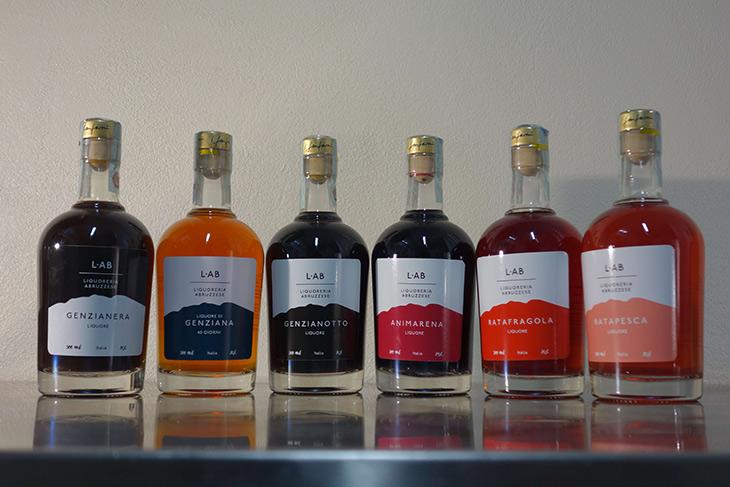 Le sei chicche della collezione ĿAB, Liquoreria Abruzzese