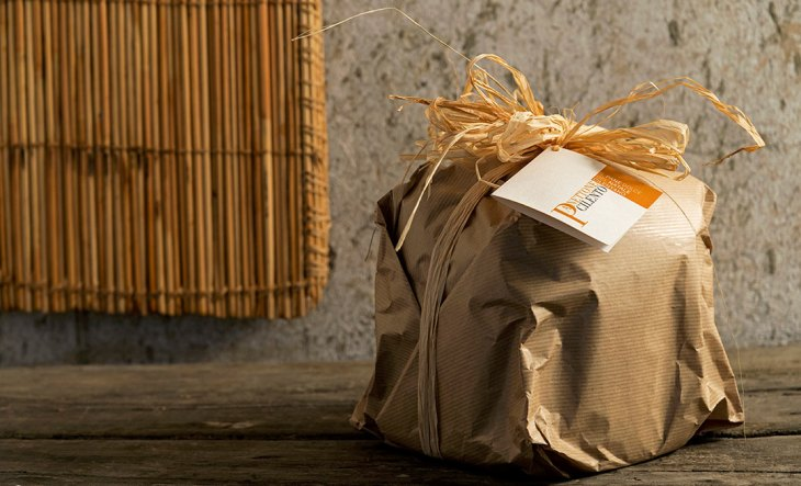 Il packaging del Pane Dolce del Natale Cilentano