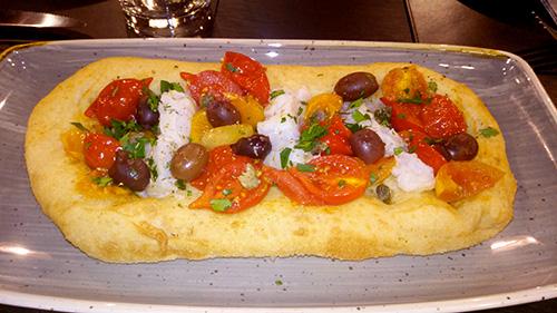 Pizza Baccalà e Piennolo