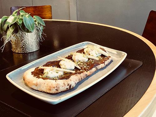Pizza Ricotta, Pere e Cioccolato