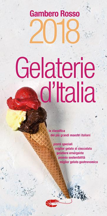 La copertina di Gelaterie d'Italia del Gambero Rosso 2018