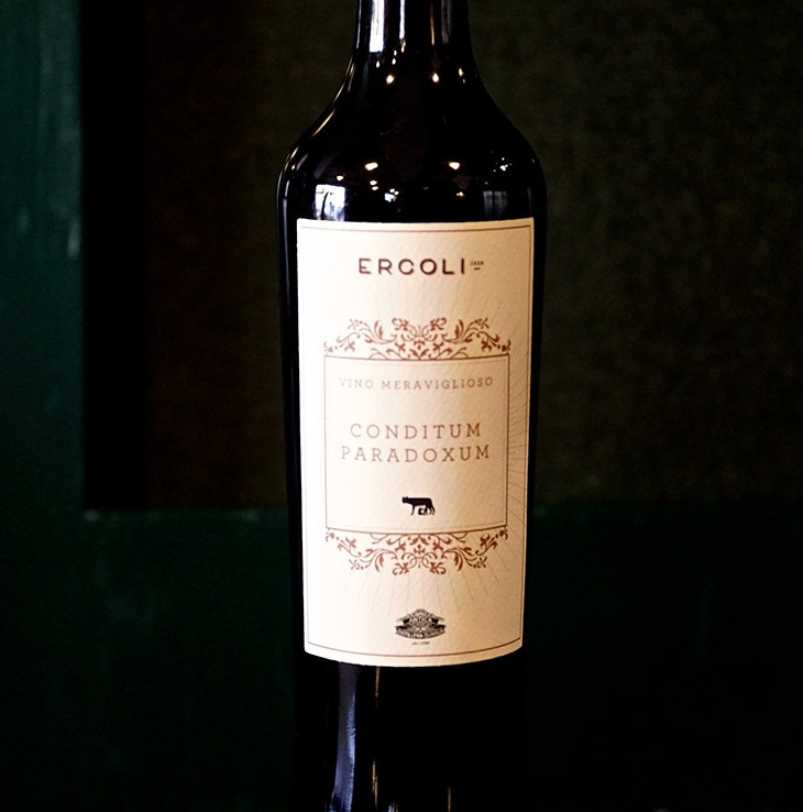 Bottiglia del Vino Meraviglioso – Conditum Paradoxum