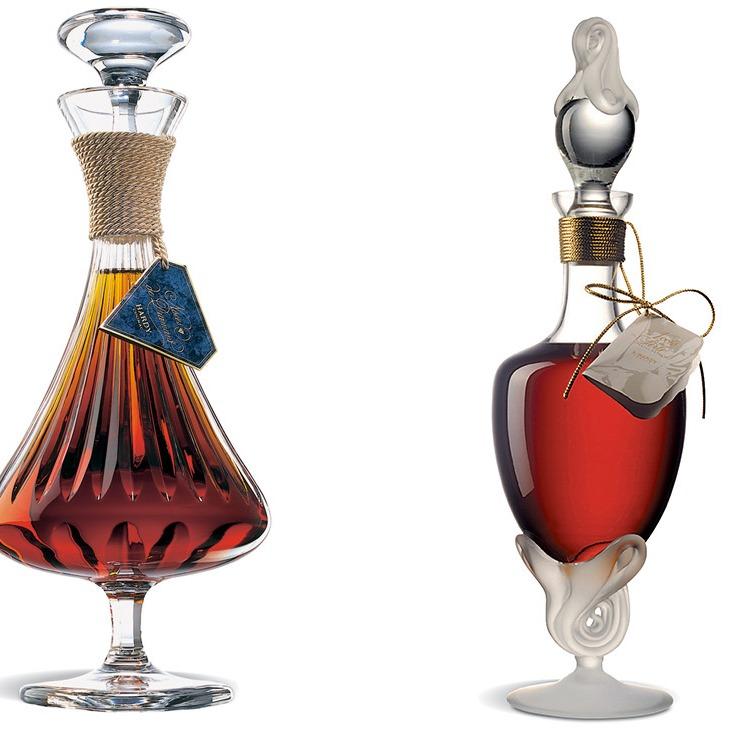 La preziosa bottiglia del Noces de Diamant e L'eleganza del cristallo di Lalique per il Noces de Perle