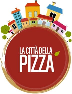Il colorato logo della Città della Pizza