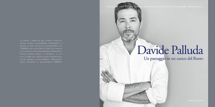 La cover del libro Davide Palluda. Un paesaggio in un cuoco del Roero