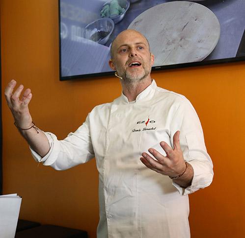 Il maestro pizzaiolo Denis Lovatel