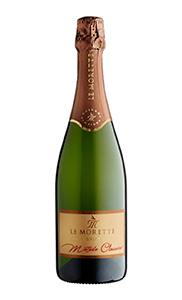 La bottiglia del Le Morette Metodo Classico Brut