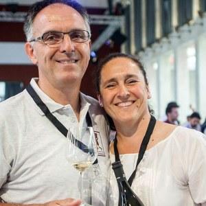 Alessia e suo marito Lino