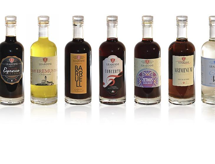 La collezione di Liquori Leardini