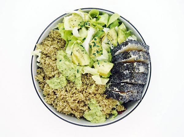Un altro piatto sano e gustoso del menu di Feat Food