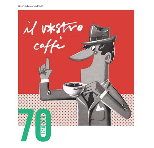 Immagine celebrativa del Caffè Goppion