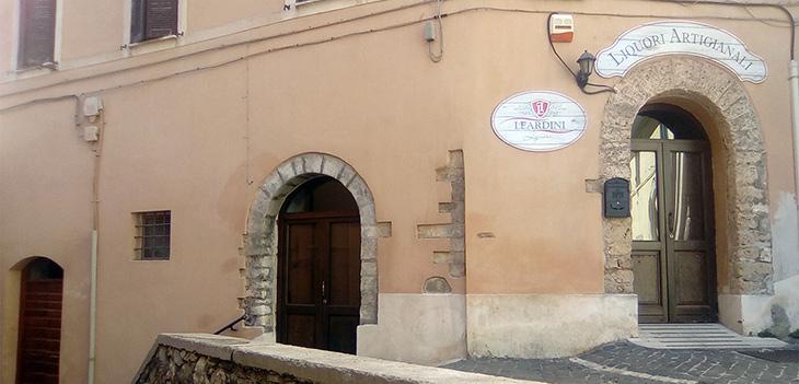 La sede della Distilleria Leardini Liquori dal 1958