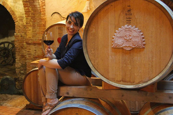 Violante GardinI, presidente Movimento Turismo del Vino Toscana