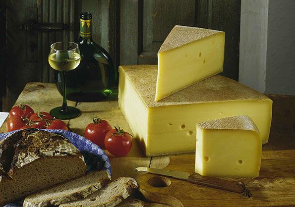 Bergkaese (formaggio di montagna) dell'Algovia