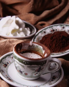 Il caffè espresso al Gambrinus di Napoli