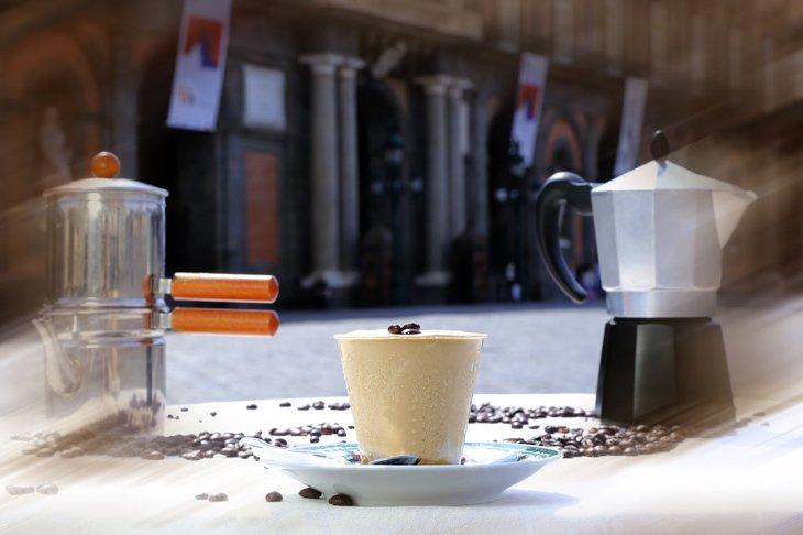 La Coviglia al Caffè del Gambrinus di Napoli