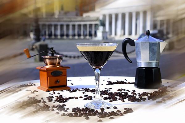L'Espresso Martini del Gambrinus