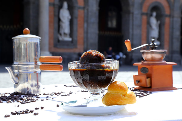 La Granita di caffè del Gambrinus