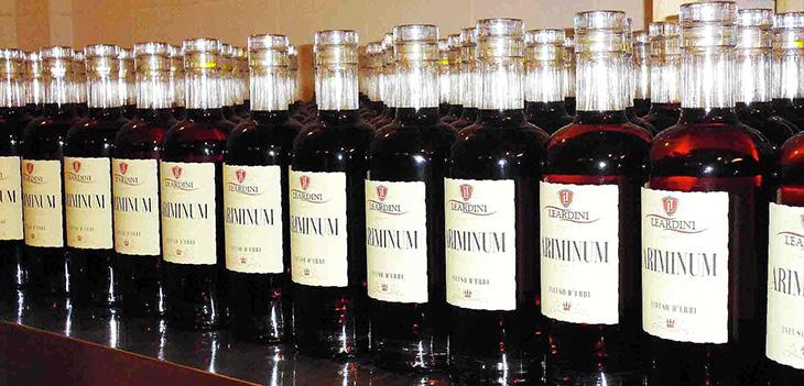 Bottiglie di Ariminum Leardini