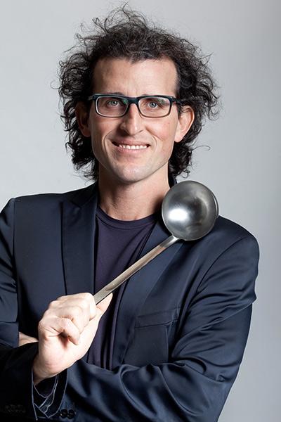 Andrea Graziano, fonder di Fud Bottega Sicula