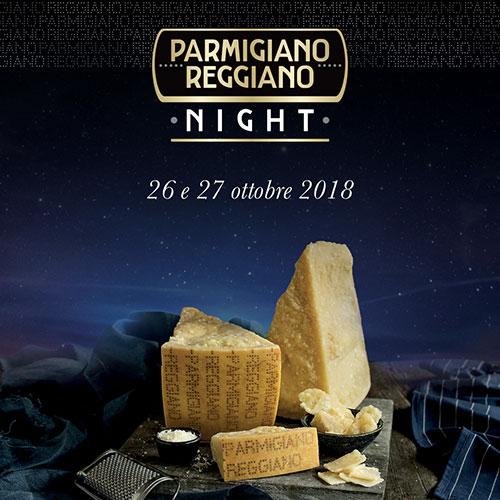 La locandina di Parmigiano Reggiano Night