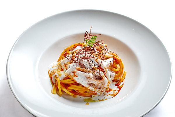Gli Spaghetti all'astice e salsa americana