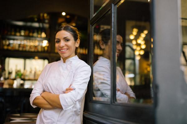 La pastry chef Francesca Minnella al Madeleine