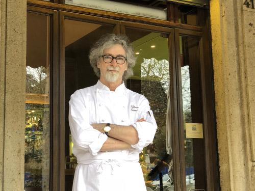 Lo chef Vittorio Fusari al Balzer