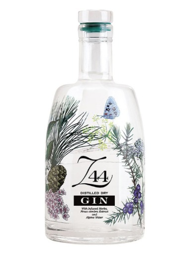 bottiglia di gin z44
