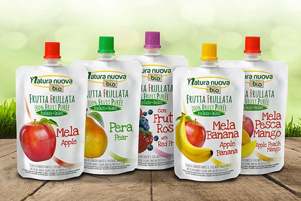 Frutta da bere bio Natura Nuova