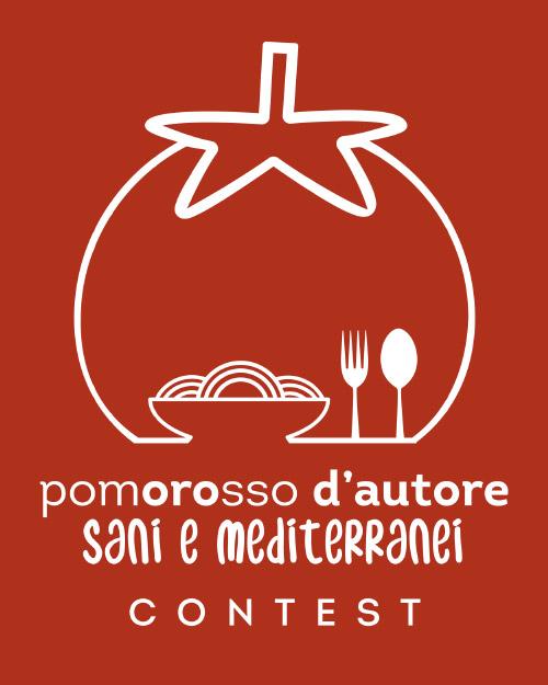 Il logo del contest Pomororosso – Sani e Mediterranei
