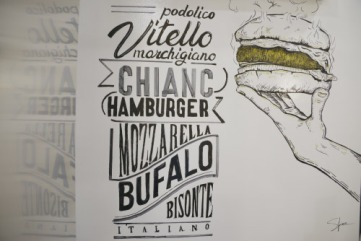 Illustrazione del Chiancamburger