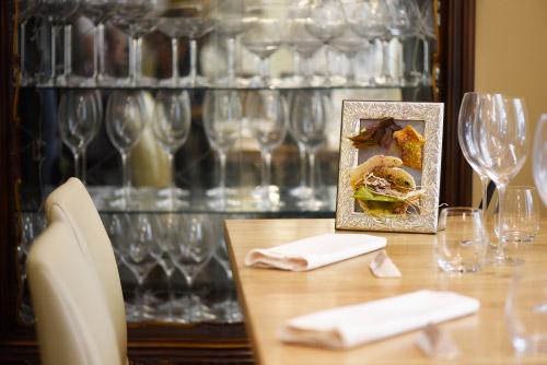 Interno del ristorante Il San Giorgio a Roma