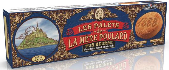La Mère Poulard Palets French Shortbread