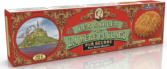 La Mère Poulard Sables French Butter Biscuit