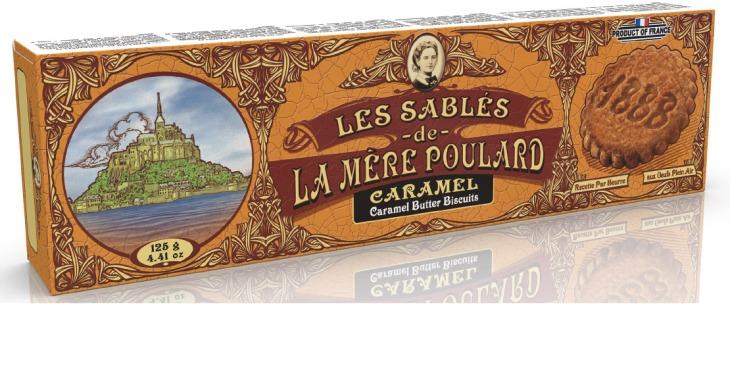 LA MERE POULARD Sables Caramel Butter Biscuit