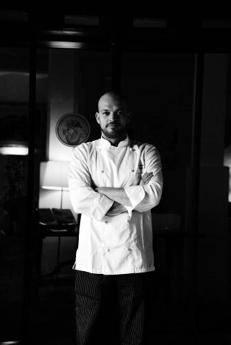Lo chef Andrea Viola