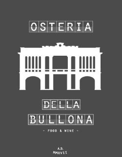 Il logo dell'Osteria della Bullona