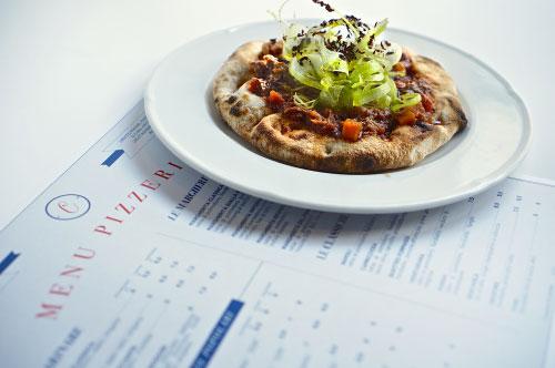 La Pizza alla Vaccinara di Celestina alla Camilluccia